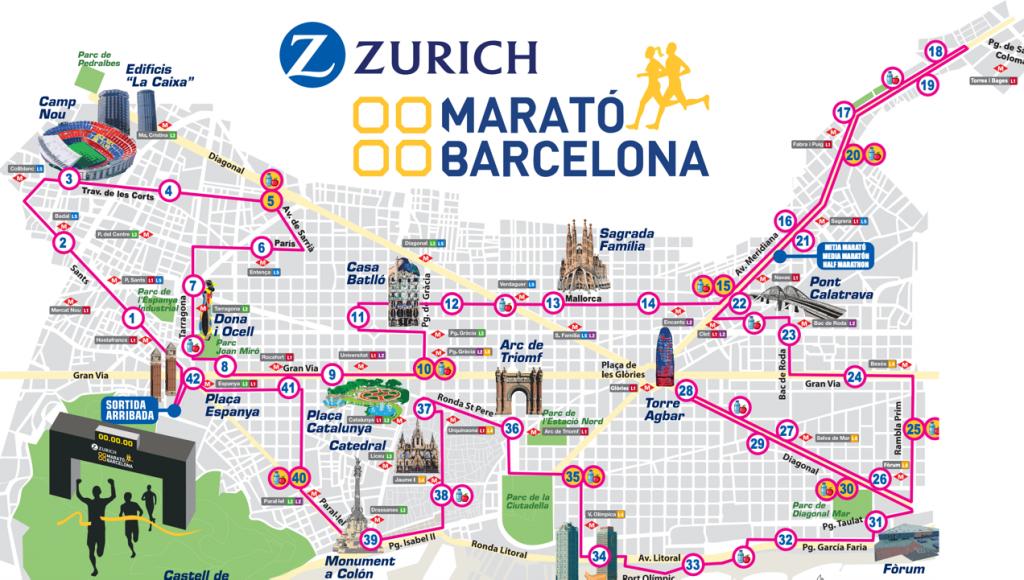 #3 Barcelona Marathon